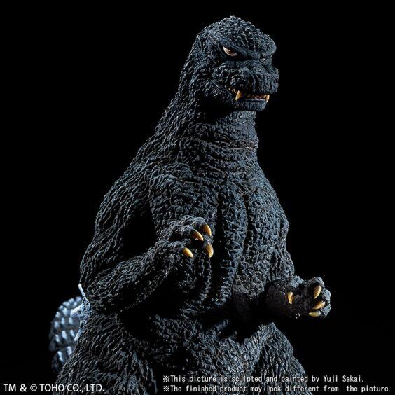 "Yuji Sakai Modeling Collection Godzilla (1984) ""The final battle at Shinjuku"""