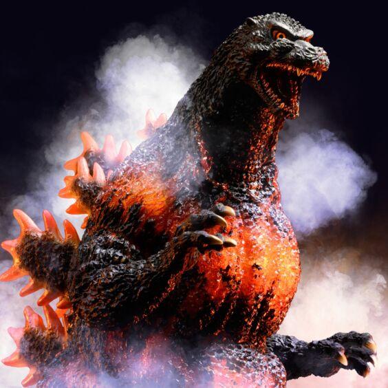 "Yuji Sakai Modeling collection Godzilla(1995) ""Hong Kong Landing"""