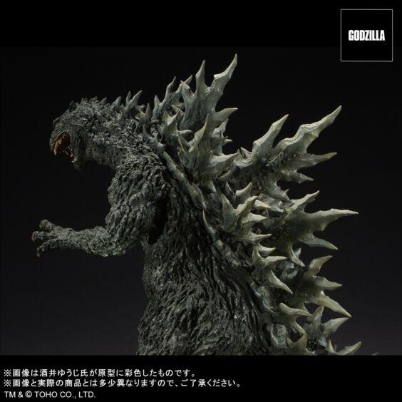 ゴジラ2000 ミレニアム ひな形レプリカ ソフビ版