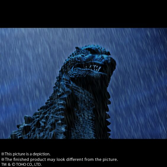 "Yuji Sakai Modeling collection Godzilla(2002) ""battle in the storm"""