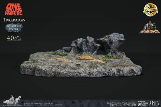「恐竜100万年」トリケラトプス スタチュー