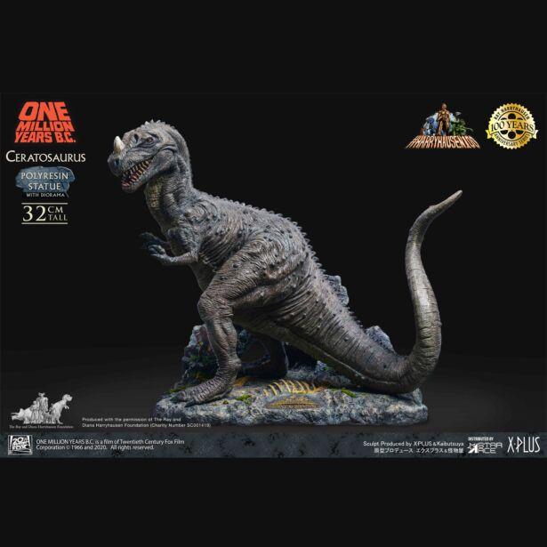 『恐竜100万年』ケラトサウルス スタチュー