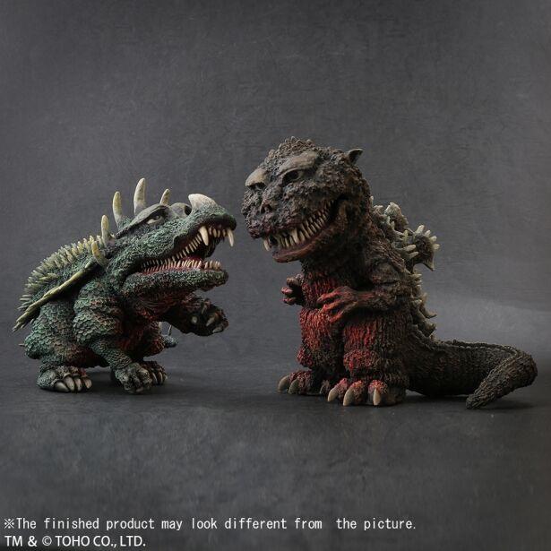 Godzilla(1955)& Anguirus(1955) Technicolor Ver. set