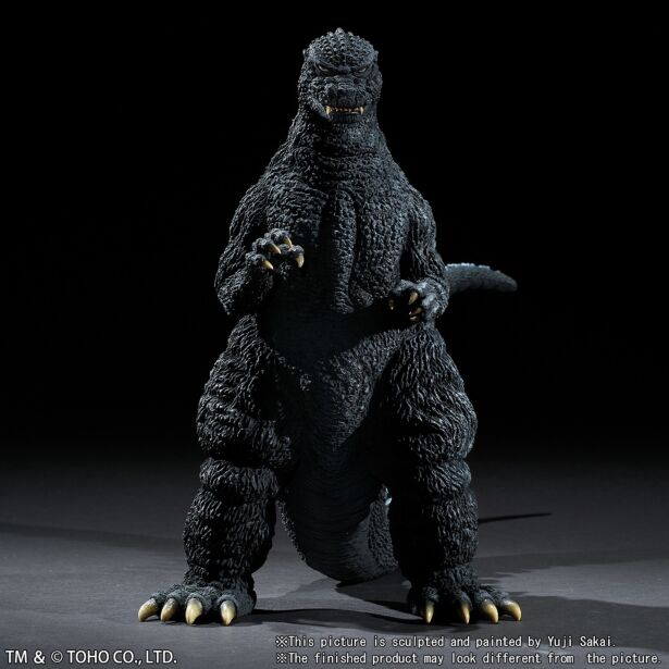 "Yuji Sakai Modeling Collection Godzilla (1984) ""The final battle at Shinjuku"""
