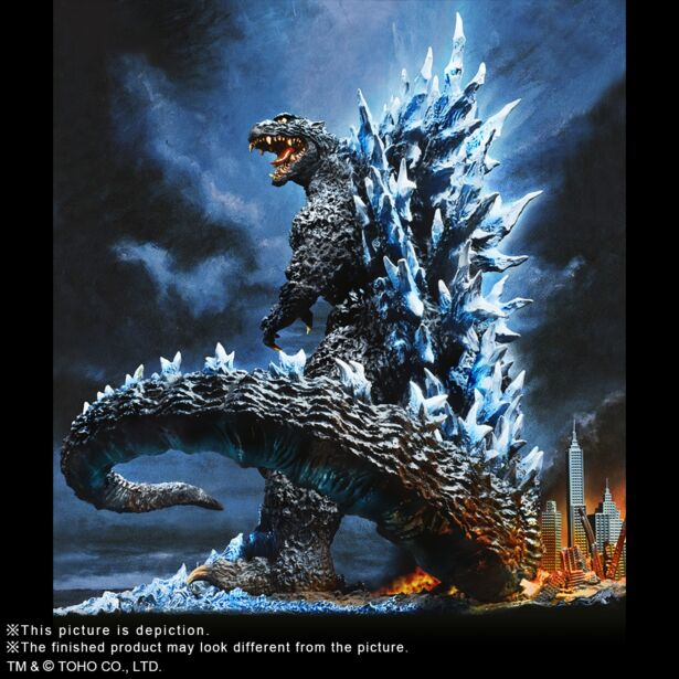 Yuji Sakai Best Works Selection Godzilla(2004) Poster Version Second order